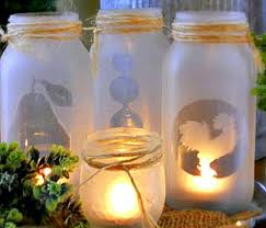 Ways To Decorate Glass Jars 100 Outstanding Craft Projects Using Glass Jars FeltMagnet 97