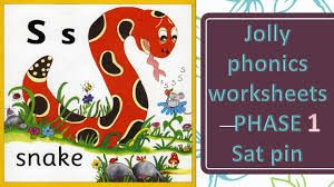 See our extensive collection of esl phonics materials for all levels, including word lists, sentences, reading passages, activities, and worksheets! Jolly Phonics Sound Worksheets Phase 1 Satpin Youtube