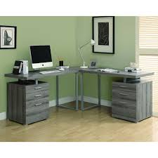 monarch shaped home office desk. Monarch Specialties Hollow Core L-Shaped Desk At ATG Stores - Loved The Urban Look Reclaimed Shaped Home Office L