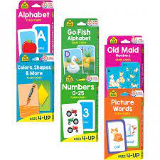 See more ideas about kindergarten flash cards, preschool activities, kindergarten. Preschool Flash Card Bundle School Zone