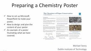 student posters on chemistry topics ideas education in chemistry