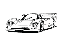 Free Printable Coloring Sheets Race Cars Car Printable Coloring
