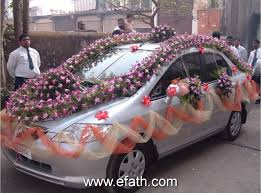 Wedding Car Decorations Accessories Image detail for Indian Wedding Car Decoration Indian Wedding Car 92