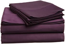 twin size sheets purple 1800 thread count sheets