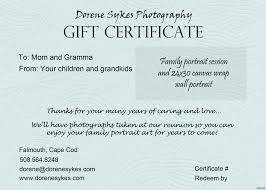 Gift Card Samples Free Sample Blank Gift Certificate Copy Green Word Free Gift Certificate 12