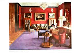 For Red Living Rooms Design Interior Living Room Purple And Red Vintage
