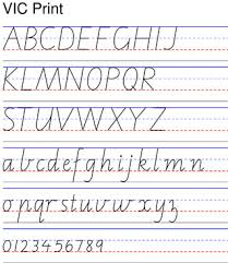 Cursive Letter Chart Free Printable Cursive Chart Printable