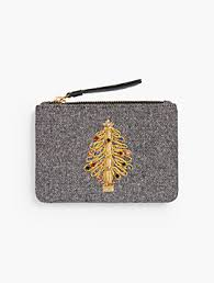 Novelty Pouch - Holiday Tree
