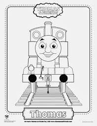Thomas The Train Coloring Sheet