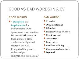 Examples Of Good And Bad Resumes Good And Bad Resume Examples S Simple Bad Resumes