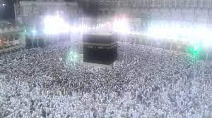 نور السماء فوق بيت الله الحرام - الكعبه - YouTube