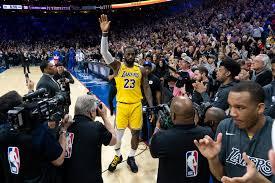 NBA: LeBron James moves past Lakers legend Kobe Bryant on ...