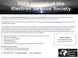 Ieee Journal Of Electron Devices Society J Eds