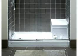 shower unit throughout kohler shower bases decorations kohler 60 shower base with seat
