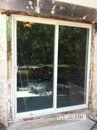 install patio door unique installing sliding glass door saudireiki