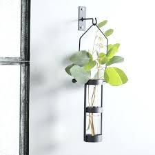 sensational ideas metal wall vase home remodel august grove hanging cylinder reviews vases for flowers sconce metal wall vase