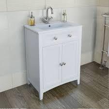 white wooden bathroom furniture. Camberley White 600 Door Unit \u0026 Basin | Http://www.victoriaplumb.com/ Bathroom-Furniture/Vanity-Units/Camberley-White -600-Door-Unit-Basin_1720.html Wooden Bathroom Furniture L