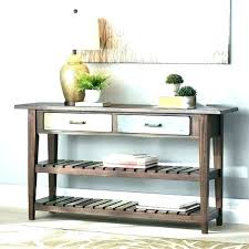 sofa table with storage.  Table Small Couch Table Console With Storage Sofa  Shelves  Intended Sofa Table With Storage