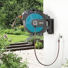 gardena wall mounted hose box roll up