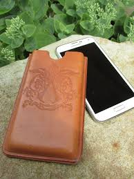 picture of wet formed leather phone case