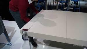 Mobliberica Tisch Varese Mit Chrom Beinen Und Ausziehbarer