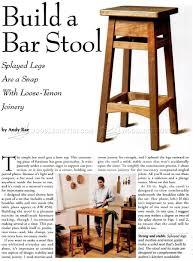 DIY Bar Stool  Build Your Own Bar Stools7