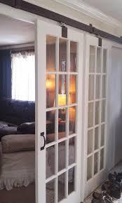 glass barn doors interior. Interior Sliding Glass Doors, Wall Partitions, Barn Doors
