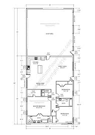 barndominium floor plans pole barn house planetal