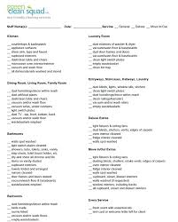 cleaning schedule printable cleaning list for housekeeper printable complete housekeeping set