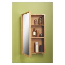 Bamboo Bathroom Cabinets Taio Bamboo Single Mirrored Bathroom Cabinet Badeva Relse