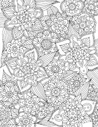 Spring Flower Coloring Pages Free Free Spring Flower Coloring Sheets