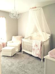 photo 2 of 7 baby room chandeliers nice look girly pink blush nursery with chandelier ivory baby room