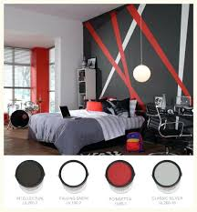 Black Red And Silver Bedroom Ideas 2