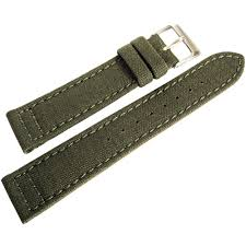 20mm hadley roma ms850 mens army olive green cordura canvas watch 20mm hadley roma ms850 mens army olive green cordura canvas watch band strap
