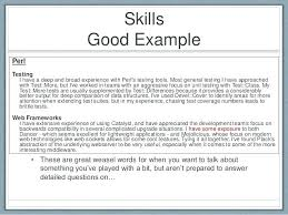 Additional Skills On Resume How To Write A Resume Skills Section Awesome What To Put For Skills On A Resume