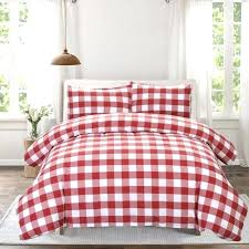 plaid duvet covers gingham plaid duvet cover bedding sets queen bed pillowcase 3 pieces red white plaid duvet covers