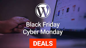 wordpress black friday cyber monday deals 2017