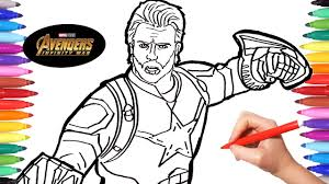 Infinity wars (part 1), hope you guys like it! Avengers Infinity War Captain America Avengers Coloring Book Coloring Pages Avengers Youtube