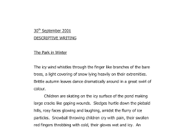 the park in winter a level psychology marked by teachers com document image preview