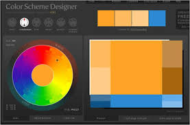 ... the color wheel to pick a starting color, like Orange, then click on  the