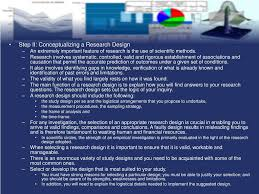 Conceptualizing A Research Design Ppt Psy 4603 Research Methods Powerpoint Presentation