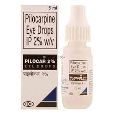 pilocar 2 eye drops uses dosage
