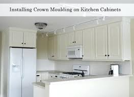 Adding Crown Molding To Kitchen Cabinets New Design