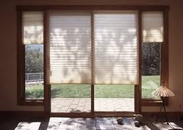 designer series sliding patio doors with built in blinds pella