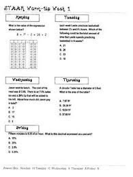 Texas 8th Grade Math Chart 9 Start Preparing Your Students For The Grade 7 Math Staar