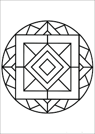 Kaleidoscope Coloring Pages Free Swifte Us