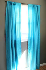 Aqua Blue Shower Curtain Liner Aqua Turquoise Window Curtains Set