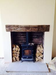 log burner wood lintel google search more