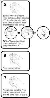 clicker garage door keypad instructionsHow To Program The Chamberlain Garage Door Remote KLIK1U