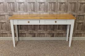 pine console table. Amazing Of Pine Console Table With Rustic Side A Painted Base Farrow Ball T